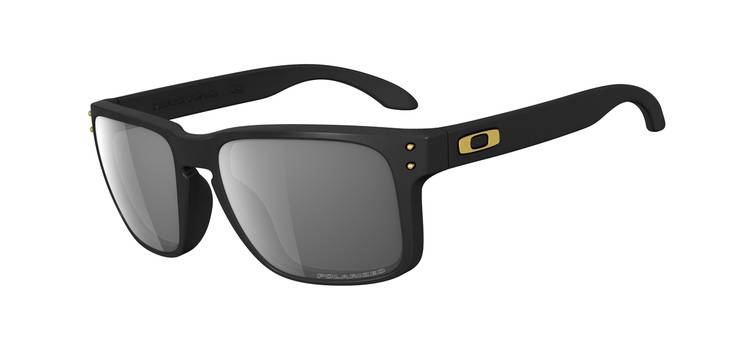 Okulary OAKLEY HOLBROOK SHAUN WHITE Matte Black / Grey Polarized oo9102-17