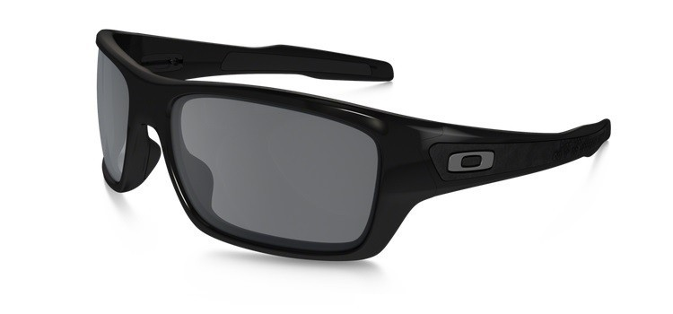 Okulary OAKLEY TURBINE Polished Black / Black Iridium OO9263-03