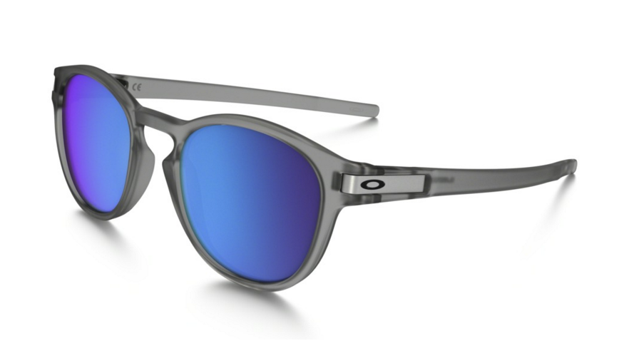 Okulary OAKLEY LATCH Matte Grey / Sapphire Iridium Polarized oo9265-08