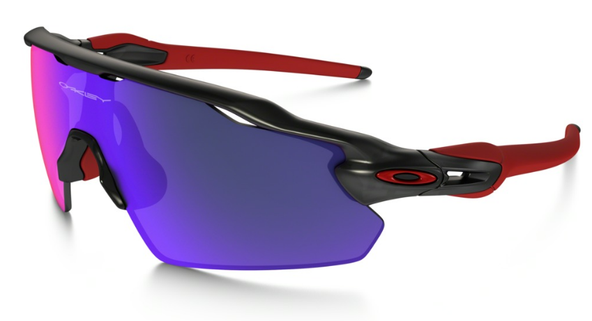 Okulary OAKLEY RADAR EV PITCH Matte Black Ink / Positive Red Iridium oo9211-02