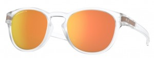 Okulary OAKLEY LATCH Matte Clear / Prizm Rose Gold Polarized oo9265-52