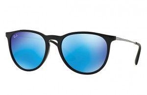 Okulary RAY BAN 4171 ERIKA Black Light Green  / Mirror Blue ORB4171-601/55
