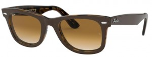 Okulary RAY BAN WAYFARER Brown Havana/Grad Brown ORB2140-127651