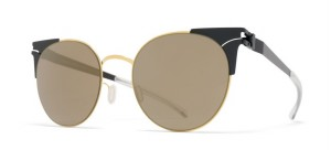 Okulary MYKITA LULU Gold Jetblack / Brilliantgrey Solid C167