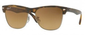 Okulary RAY BAN CLUBMASTER  Havana  / Brown Grad. Brown Polar. ORB4175-878/M2