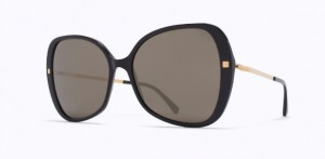 Okulary MYKITA APAAY C6 Black / Glossy Gold / Brilliant Grey Solid C919