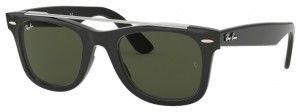 Okulary RAY BAN 4540 Black / Green ORB4540-601/31