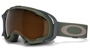 Gogle snow OAKLEY SPLICE Surplus Green / Black Iridium 59-155