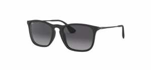 Okulary RAY BAN 4187 CHRIS Rubber Black / Gradient Grey ORB4187-622/8G