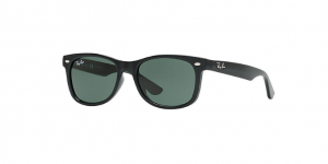 Okulary RAY BAN JUNIOR 9052S Black / Green ORJ9052S-100/71