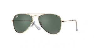 Okulary RAY BAN JUNIOR 9506S Gold / Grey/Green ORJ9506S-223/71