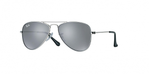 Okulary RAY BAN JUNIOR 9506S Silver / Silver Mirror ORJ9506S-212/6G