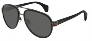 Okulary Gucci Black / Grey GG0447S-001