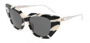 Okulary Gucci Black Ivory / Grey GG0641S-002