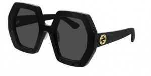 Okulary Gucci Black / Grey GG0772S-004