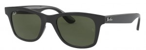 Okulary RAY BAN Shiny Shiny Black / Green ORB4640-601/31