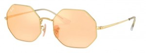 Okulary RAY BAN OCTAGON Shiny Gold / Photo Orange Mirror Gold 0RB1972-001/B4