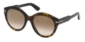 Okulary Tom Ford Dark Havana / Brown Gradient FT0661-52G