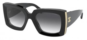 Okulary CHANEL Black / Grey Gradient CH5435-C622S6