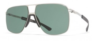 Okulary MYKITA OAK MH3  Silver / Green C245