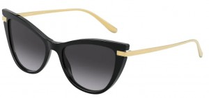 Okulary DOLCE GABBANA Black / Grey Gradient DG4381-501/8G