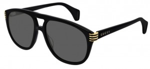 Okulary Gucci Black / Grey GG0525S-001