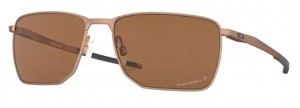 Okulary OAKLEY EJECTOR Satin Rose Gold / Prizm Tungsten Polarized oo4142-05