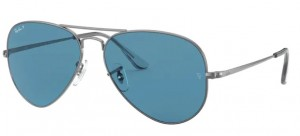 Okulary RAY BAN 3689 GUNMATAL/ Blue ORB3689-004/S2