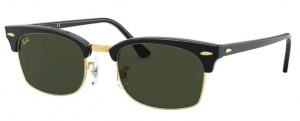 Okulary RAY BAN Black / 9-15 Green  ORB3916-130331