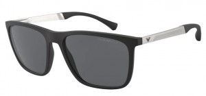 Okulary Emporio Armani 4150 Rubber Black EA4150-  506387