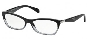 Okulary PRADA  BLACK GRADIENT TRANSPARENT PR15PV-ZYY1O1