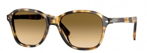 Okulary PERSOL Striped Honey/ Gradient Brown PO3244S-112351