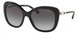 Okulary CHANEL Black / Dark Grey Gradient CH5339H-C501S6