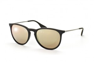 Okulary RAY BAN 4171 ERIKA Black Light Brown / Mirror Gold ORB4171-601/5A