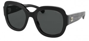 Okulary CHANEL Black / Grey Easy to Clean  CH5433-C501S4