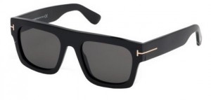 Okulary Tom Ford Black / Smoke  FT0711-01A