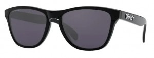 Okulary OAKLEY FROGSKIN Polished Black / Prizm Grey oo9006-22