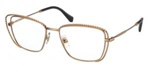 Oprawki MIU MIU Antique Gold MU50TV-7OE1O1