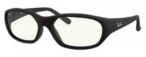 Okulary RAY BAN DADDY-O Matte Black / Clear Blue Light Filter 0RB2016-601SBF