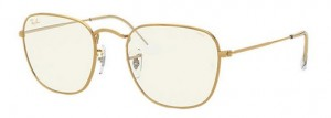 Okulary RAY BAN FRANK Legend Gold /  Photo Grey Blue light Filter  ORB3857-9196BL