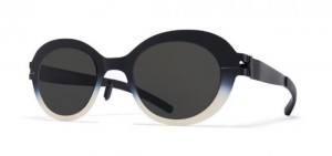 Okulary MYKITA FOCUS Black Chantilly White / Dark Grey Solid c476