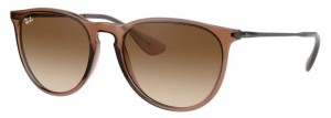 Okulary RAY BAN 4171 ERIKA Transparent Light Brown / Brown Gradient Dark Brown ORB4171-651413