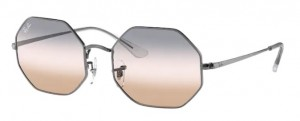 Okulary RAY BAN OCTAGON Gunmetal / Pink Gradient Grey 0RB1972-004/GC