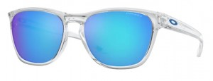 Okulary OAKLEY MANORBURN Polished Clear / Prizm Sapphire oo9479-06