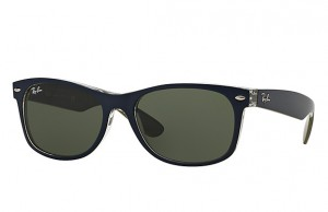 Okulary RAY BAN 2132 NEW WAYFARER Matte Blue / Green ORB2132-6188