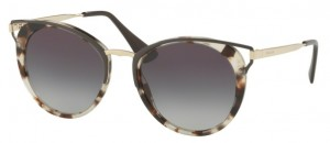 Okulary PRADA  Spotted Opal Brown / Grey Gradient PR66TS-UAO5D1