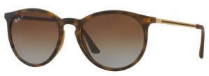 RAY BAN Rubber Havana / Polarized Grad Brown ORB4274-856/T5