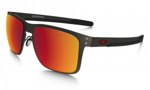 Okulary OAKLEY HOLBROOK METAL Matte Gunmetal / Torch Iridium Polarized oo4123-05