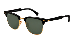 RAY BAN CLUBMASTER ALU Black / Polarized Green ORB3507-136/N5