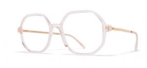 Okulary MYKITA HILLA Rose Water / Champagne Gold C940